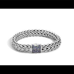 John Hardy 40th Anniversary Bracelet Blk Saphires
